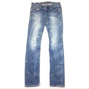 Madewell Jeans Rail Straight Style Denim
